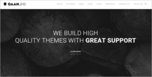 Multi Page Website Theme