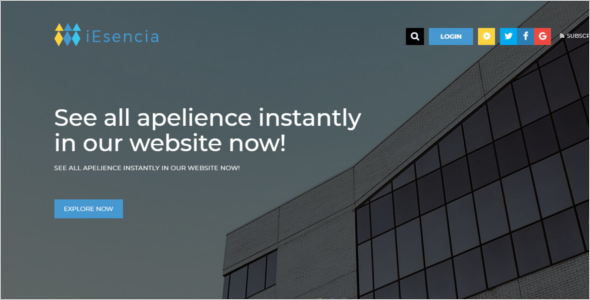 Multipurpose Corporate HTML5 Template