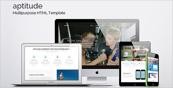Multipurpose Gym HTML5 Template