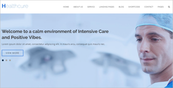Multipurpose Hospital HTML5 Template