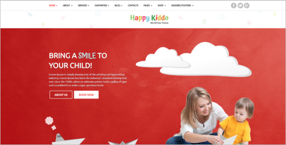 Multipurpose Kids center HTML5 Template