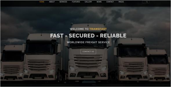 Multipurpose Logistics Website Template