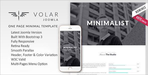 Multipurpose Mobile Friendly Joomla Template