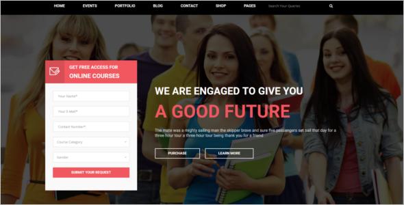 Multipurpose University HTML5 Template