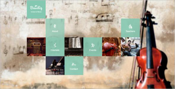 Music School HTML5 Template