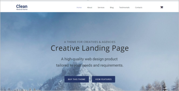 Neutral HTML5 HTML5 Templates