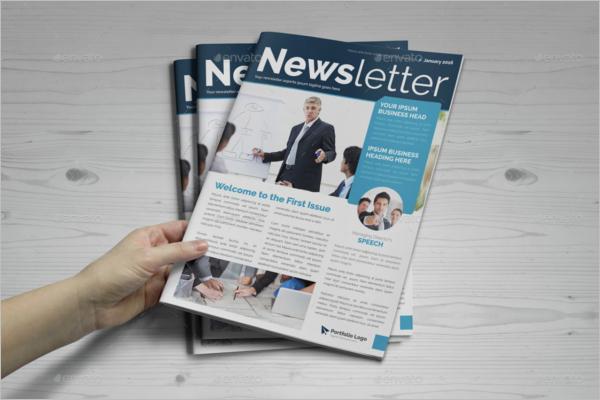 Newsletter Brochure Design