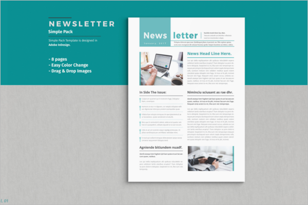 Newsletter Brochure Template