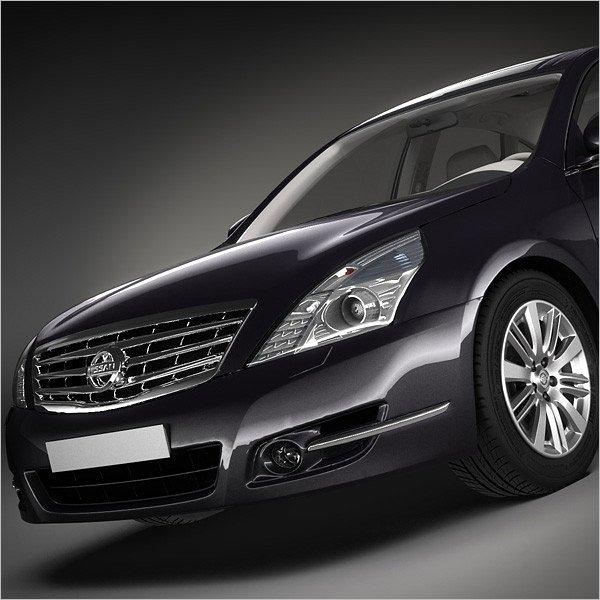 Nissan Car 3D Design