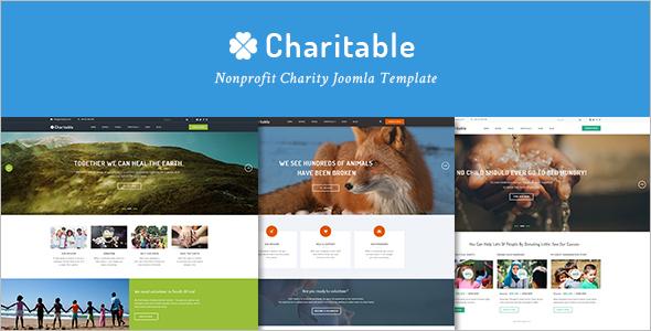 Nonprofit Charity Joomla Template