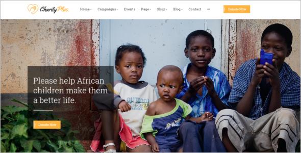 Nonprofit Organisation HTML Template