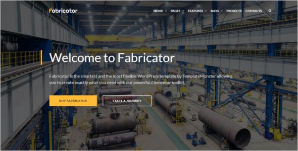 Oil & Gas Website HTML5 Template