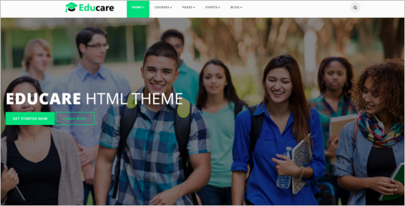 Online Training HTML5 Template