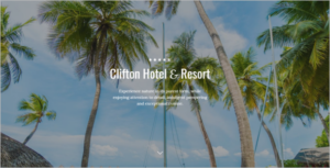 One Page Hotel HTML5 Template