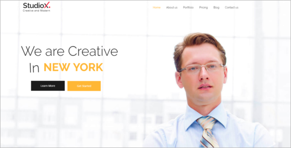 One Page Joomla HTML5 Template