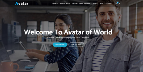 Online Business HTML5 Template