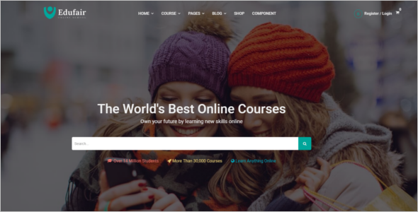 Online Education HTML5 Template