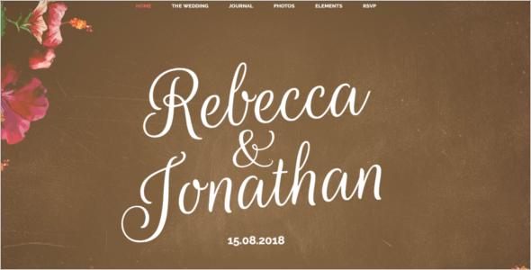 Online Matrimonial Website Template