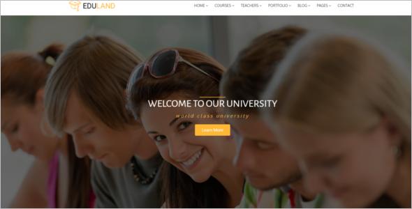 Open University Website Template