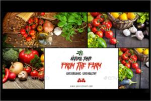 Organic StoreFacebook Ad Design