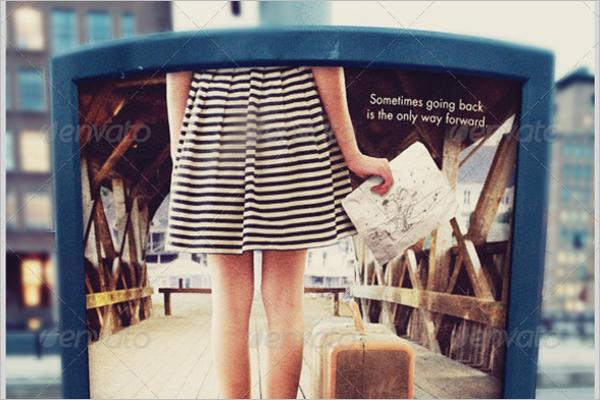 Outdoor Ad Mockup Design