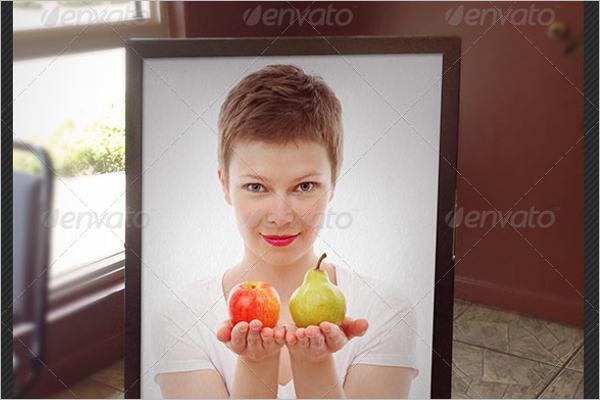 Outdoor Frame Mockup Design