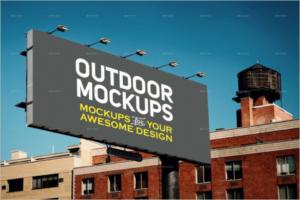 Outdoor Mockup Design