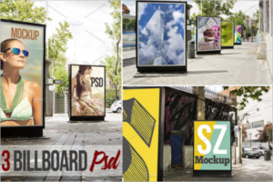Outdoor Mockup Design Set