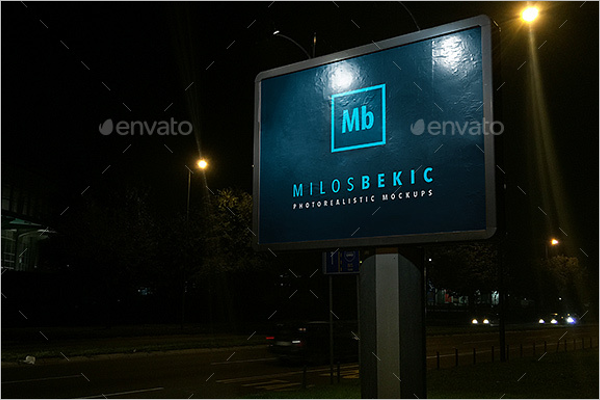 Outdoor Mockup Design Template