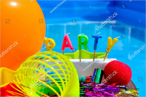 Party Celebrations Decoration PSD