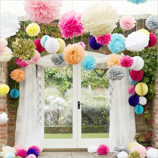 Party Decoration Idea With Paper