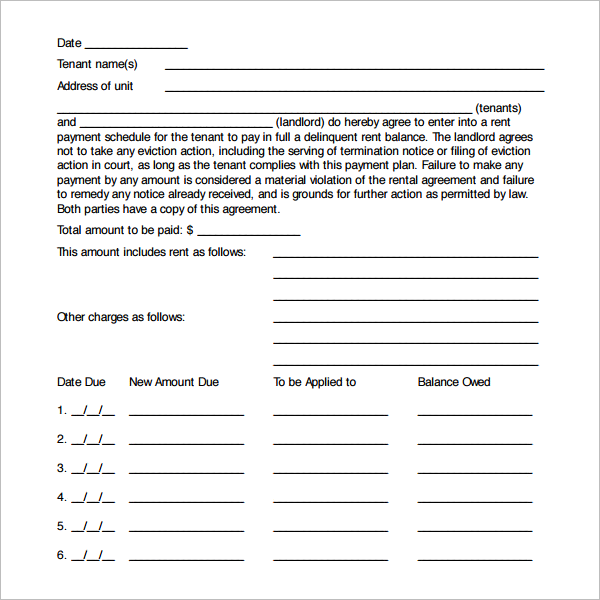 Payment Guarantee Agreement Template Word