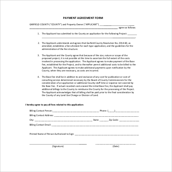 Payment Settlement Agreement Template PDF