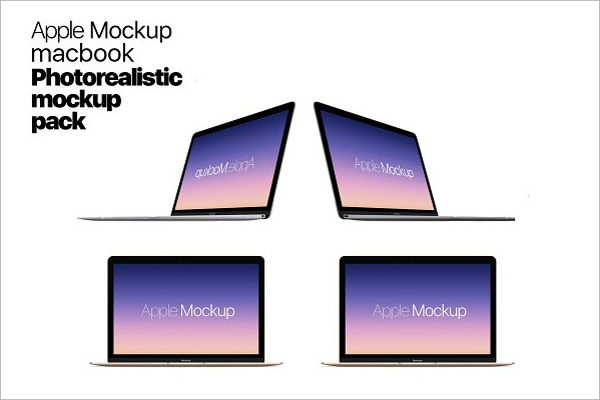 Pc Laptop Mockup PSD