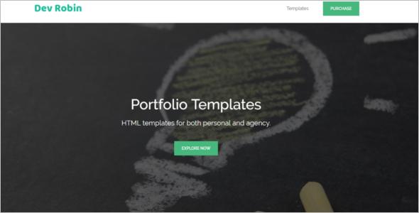 Personal Portfolio HTML5 Template
