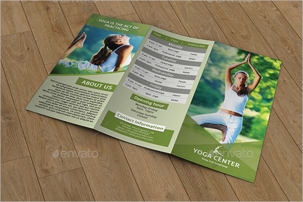 Personal Training Brochure Design