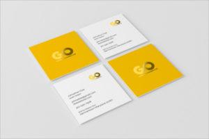 PhotoRealistic Visiting Cards Mockup Design
