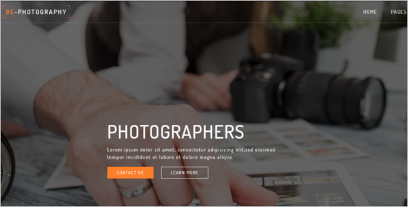 Photography HTML5 Template