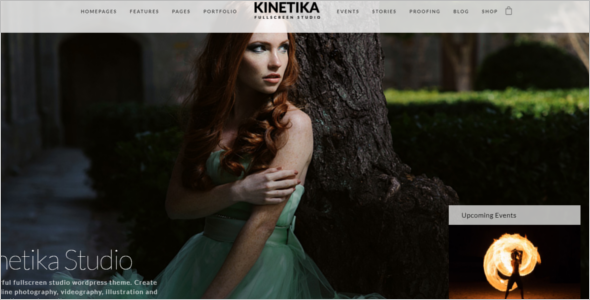 Photography Video HTML5 Template