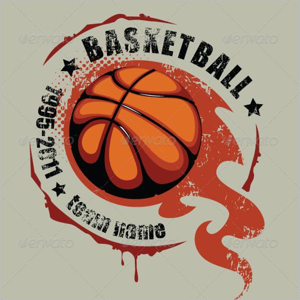 Photoshop Basketball Mockup Design