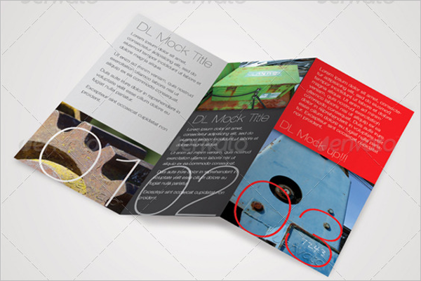 Photoshop Leaflet Mockup Template