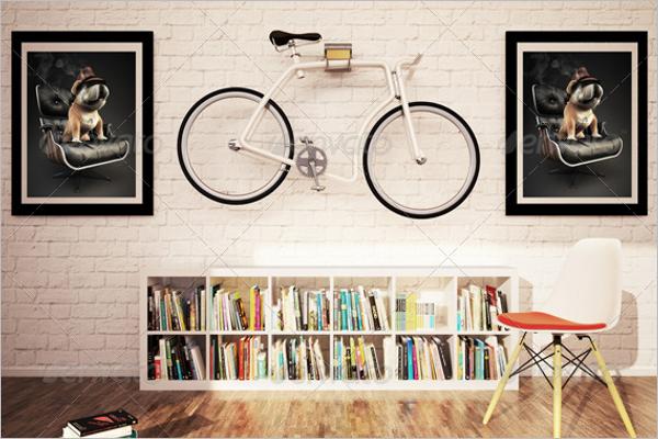 Picture Poster Mockup Design