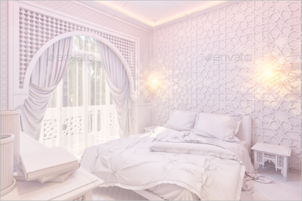 Premium Bedroom Texture Design