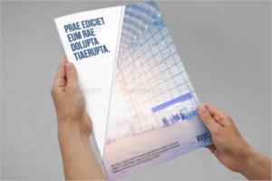 Premium Brochure Newsletter Template