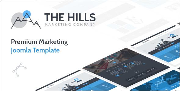 Premium Digital MarketingJoomla Template