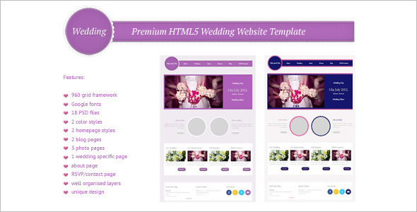 Premium HTML5 Website Template