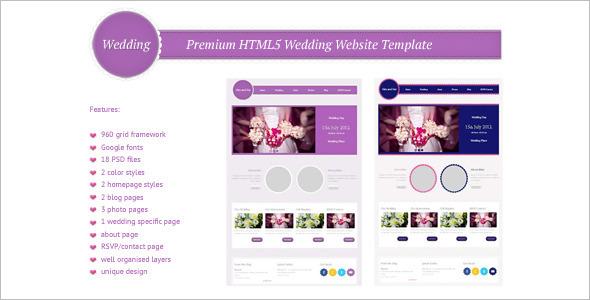 Premium HTML5 Website Template