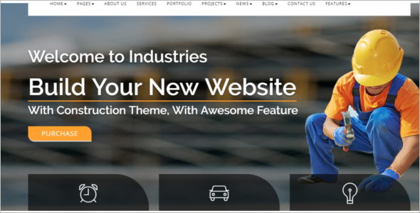 Premium Industry HTML5 Template