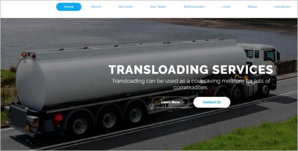Premium Logistics HTML5 Template