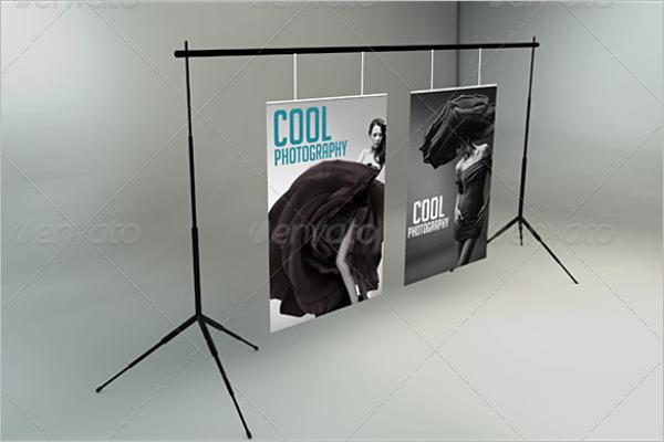 Presentation Poster Mockup Template